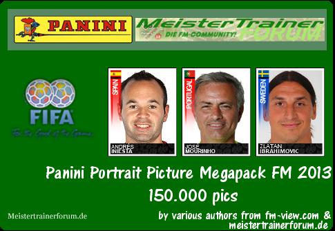 Panini Portrait Picture Megapack FM 2013 Y3ssagcjf96
