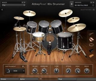 UPDATE for converting old NI Abbey Road 80s Drums library - KONTAKT screenshot