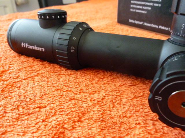 Delta optical titanium 4.5 30x50 ir sf mcz langzeittest :: airgun