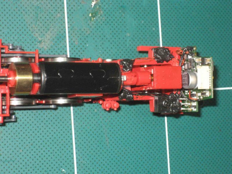Umbau Lenz Br 66 Auf M Digital Stummis Modellbahnforum