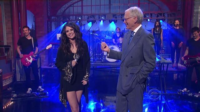 Selena Gomez     The Late Show 04 24 2013